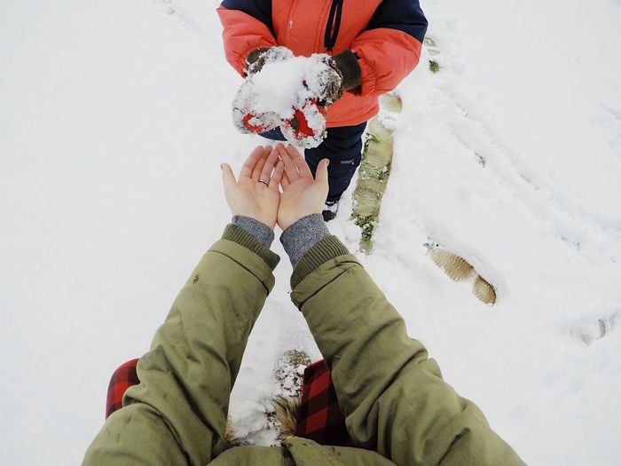 Hands Child Mother Gopro Snow Winter Cold Cold Temperature Togetherness Two People Warm Clothing Outdoors Day New York Upstate New York Coats Popular Photos Check This Out EyeEm EyeEm Best Shots EyeEm Gallery EyeEm Best Shots - People + Portrait Real People Outside Outdoor Photography