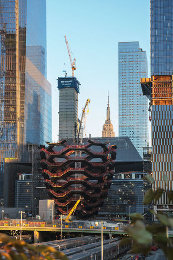 New urban construction off 1st Avenue in NYC Autumn In New York City Fall In New York City Manhattan NYC Construction New York New York City New York City Construction Architecture Built Structure Day Modern Building No People Outdoors Sky