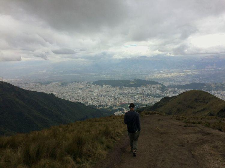 Lost In The Landscape Quito Hiking Mountain Travel Destinations Landscape Rucu Pichincha