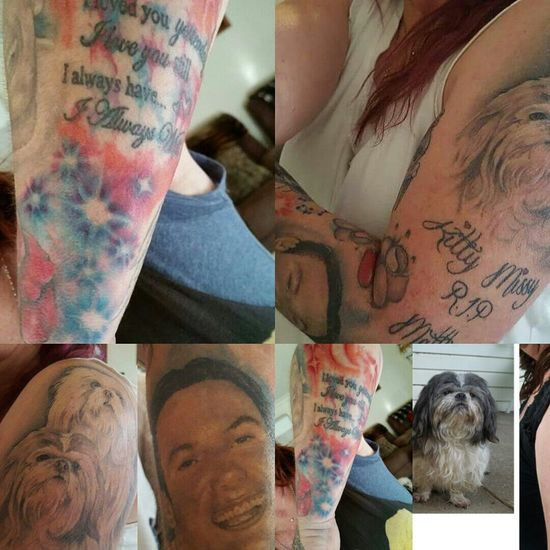 Some of my ink.