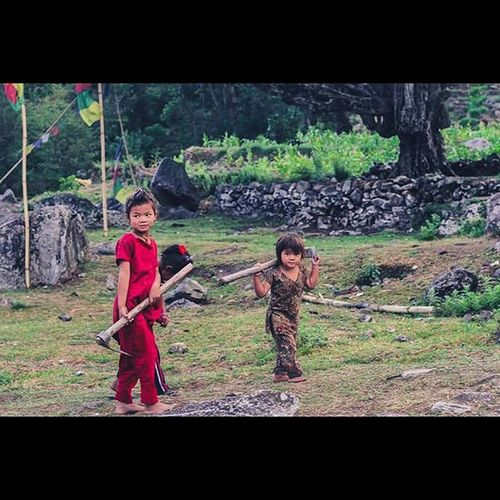 The emotions, whether they were joy, sorrow, love or pride, were so deep and sharp that in the end they left you raw, exposed and yes, in pain. Those tiny hands have more duties than any others Childrenofnepal Nuwakot Nepal Stillstrong Righttoeducation Survivors