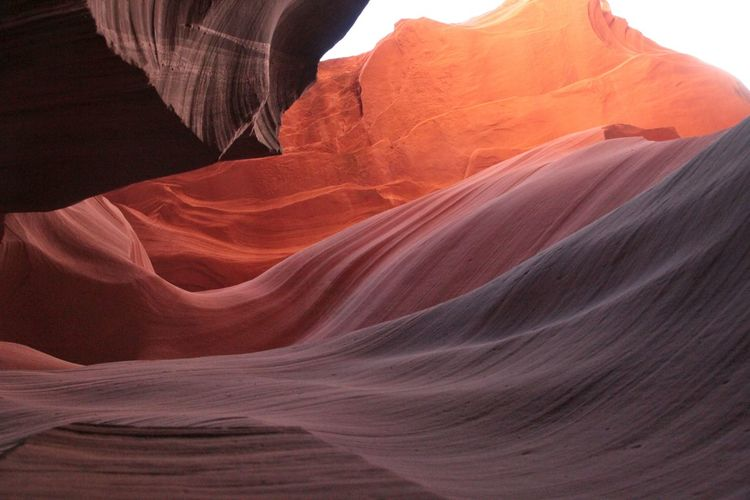 Antelope Canyon Antelope Canyon Beauty In Nature Beautiful Nature Rock Rock Formation Rock - Object Non-urban Scene Geology Physical Geography Canyon Scenics - Nature Travel Destinations Solid Travel Tranquility Nature Eroded Natural Pattern Tourism No People Landscape Desert Sandstone Arid Climate Climate Outdoors Formation