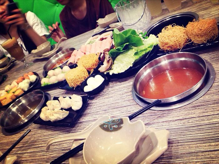 dinner of tonight . cheat meal :(( Fat Steamboat Sunday Cheat Meal