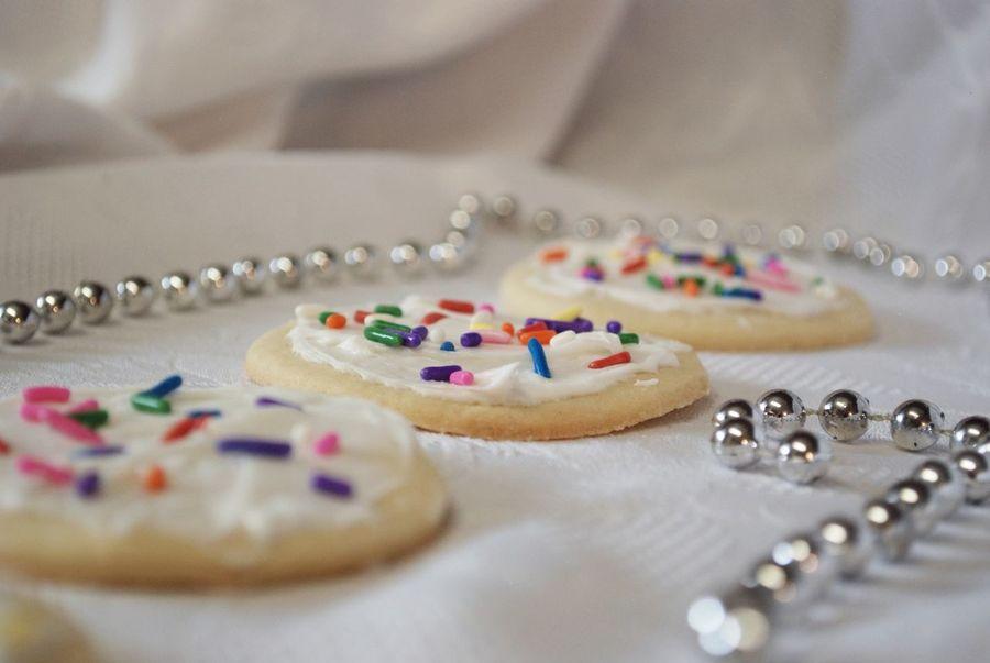 Food Stories Baking Cookies Food Frosting Pearls Sprinkles Sugar Cookies, Holiday Desserts Table Temptation Visual Feast Christmas Cookies