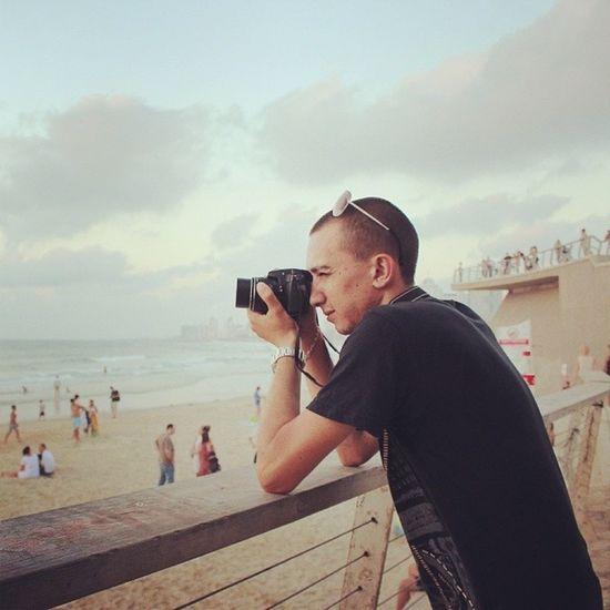 יום צילומים Fotografering