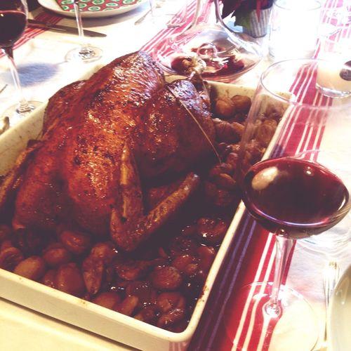 Christmas Around The World Turkey Wine
