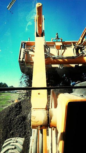 dumpin rock Fun At Work Construction Beautiful Day