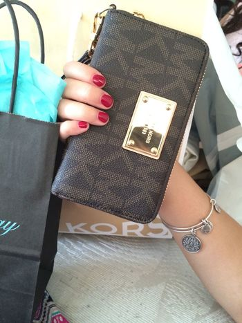 Spoiled myself today ? Shopping Michael Kors Alex And Ani