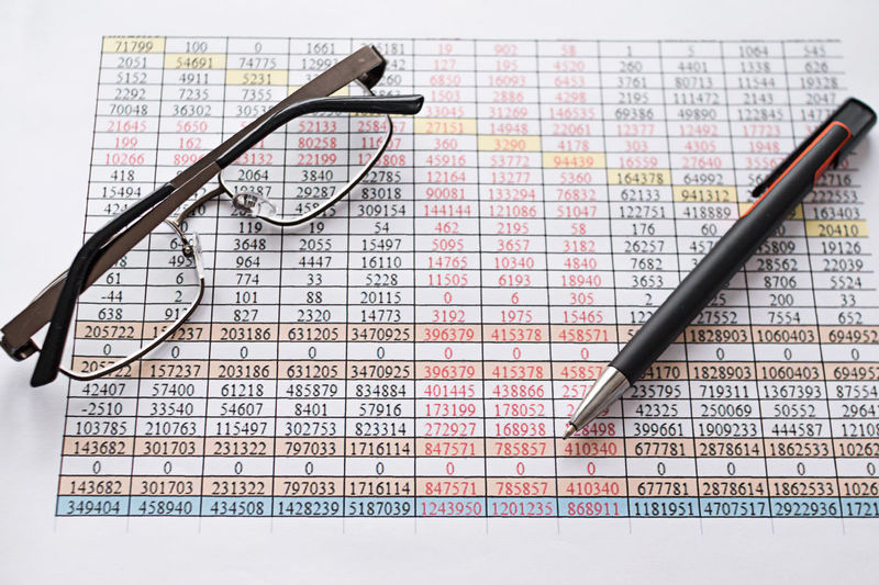 Table Economic Office Hours Prosperity & Luck Business Planning Glasses Report Statistic Technology Finance And Economy Business Finance And Industry Calculation Reports Sheet Pen Office Life Accounting Top View Financial Literacy Money Account Work Jobtime