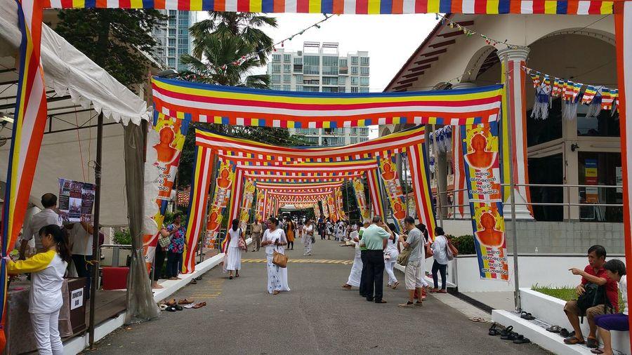 Vesak Day Buddhism Buddhist Temple