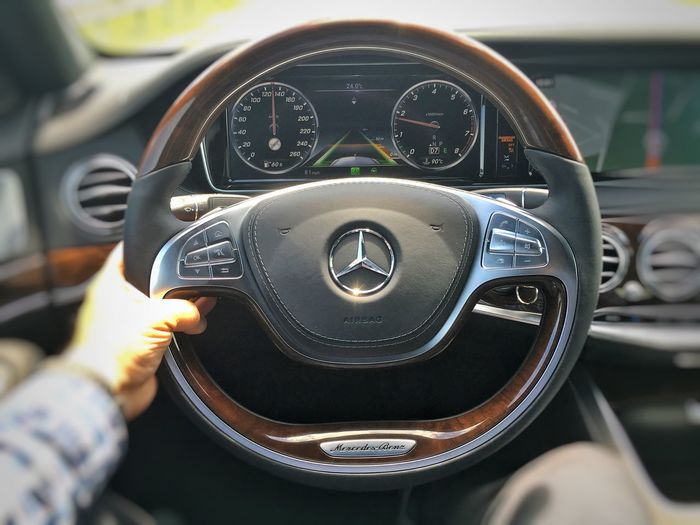Distronic Plus rocks! Mercedes-Benz S600