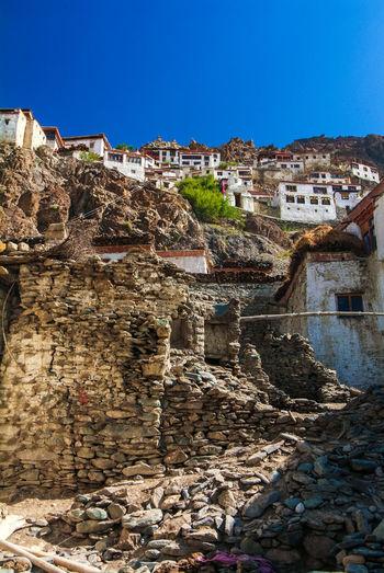 Karsha or Kursha Gompa in Zanskar Valley Ancient Cultures Folk Gompa History India Jammu And Kashmir Karsha Kursha Ladakh Leh Monastery Traditional Travel Village Zanskar
