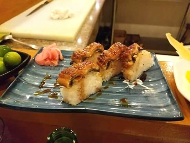 Rewarding myself from surviving the polluted people in my job. 😈😇😁😀😊 - I deserved this! Sushi Time Sushiroll Sushinight Sushi Lover Sushidate Suit And Rock Happy Hearts Day Happy Tummy Koreancuisine Korean Food 삼겹말이 Rewarding Myself