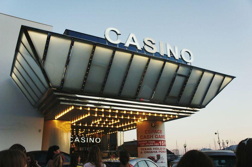 Casino Casino Royale France Cannes Reach Wealth Crowd Summer Evening Money