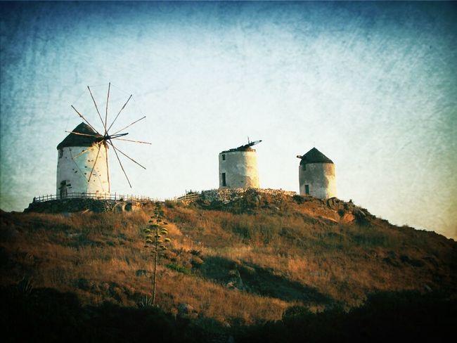 Architecture Landscape Island Greece Naxos