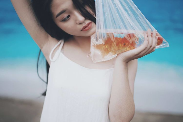 Photography Fish Girl Water Picoftheday Filters Outdoor Photography Fresh On Market 2017