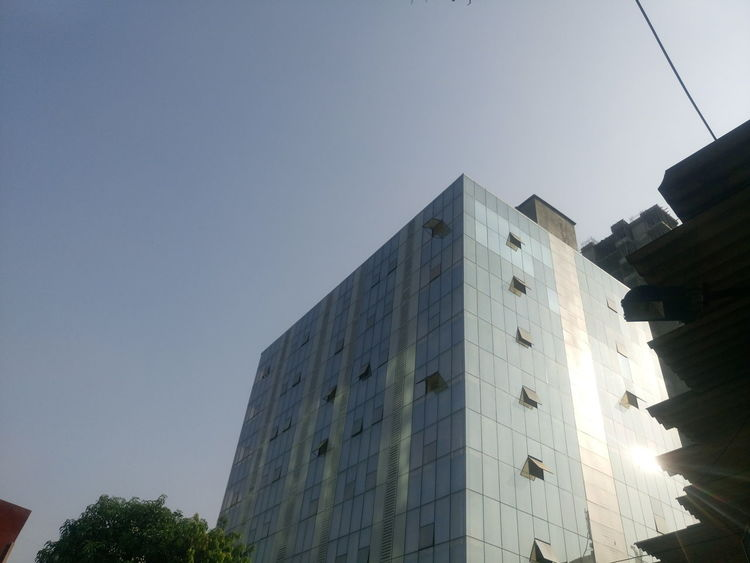 Architecture Building Building Exterior Built Structure City City Life Clear Sky Exterior International Landmark Low Angle View Modern Office Building Outdoors Skyscraper Structure Tall Tall - High Tower Urban
