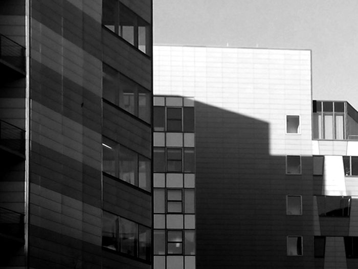 shadow steps Architecture Building Façade Glass - Material Modern Office Building Pattern Potsdamer Platz Potsdamer Platz Arkaden Potsdamerplatz Urban Window