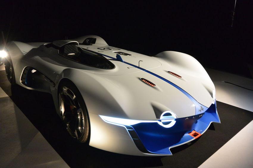 Alpine Alpine Vision Gran Turismo Car Conceptcar French Car Gran Turismo Indoors  Paris International Motor Show 2016 White Color