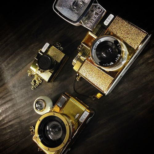 Gold Film Diana F+ Diana Baby Fisheye Camera Big Sale Lomography Taichung