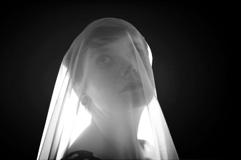 Portrait Shroud Self Portrait Fine Art Photography
