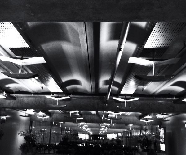 Lights In Bangkok Airport