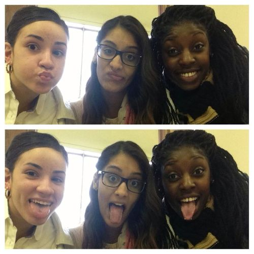 In Class With @carinanan3 & Lani