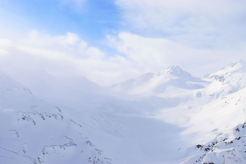 Caucasus Elbrus EyeEm Best Shots EyeEm Nature Lover Frozen Russia Beauty In Nature Cold Temperature Day Eye4photography  Landscape Mountain Mountains Nature No People Outdoors Scenics Sky Snow Tranquil Scene Tranquility White Winter Россия Эльбрус Shades Of Winter