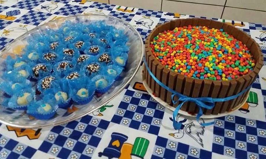 Bolo Food Cake Brigadeiro Kitkat