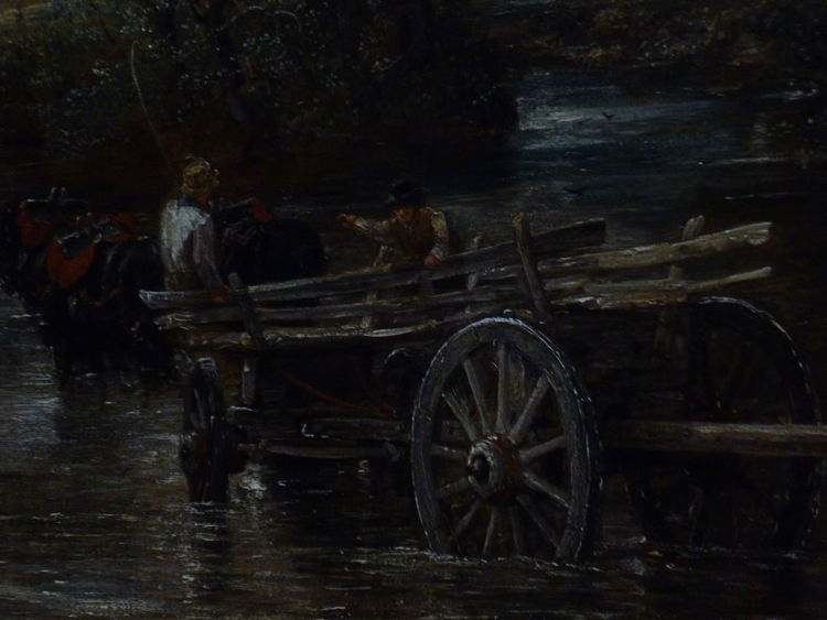 I am overwhelmed Art Detail Of  Famous Paintings For The Love Of Art Getting Inspired Mode Of Transport Old Old Master Paintings Wheel Wood - Material The Haywain -John Constable