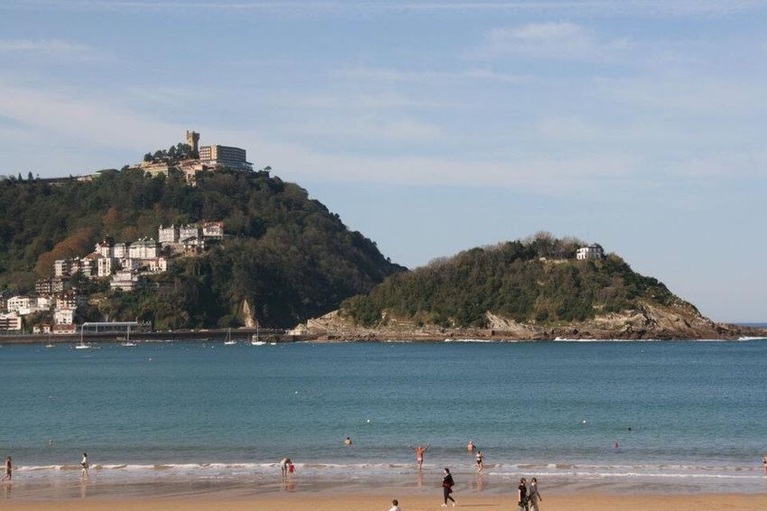 San Sebastian Playa Beach Canonphotography Nature Canon Vacations Beauty In Nature Sea Travel Destinations Tourism Water