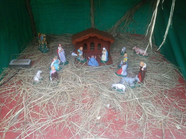 Christmas Collection Crib Indoors  Merry Christmas Merry Christmas Eve! Merry Christmas! Nativity Church Nativity Figurine Nativity Scene Night No People Traveling Home For The Holidays