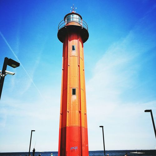 EyeEm Selects Sea Outdoors Harbor Water Travel Destinations Day Blue Lighthouse