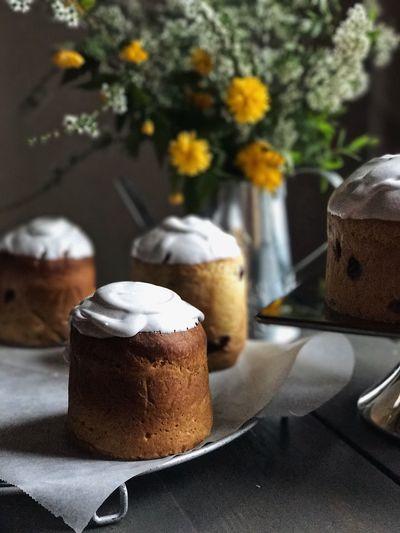 Easter Bread Cake Brioche Food And Drink Sweet Food Freshness Indulgence Dessert Table Temptation Food Flower