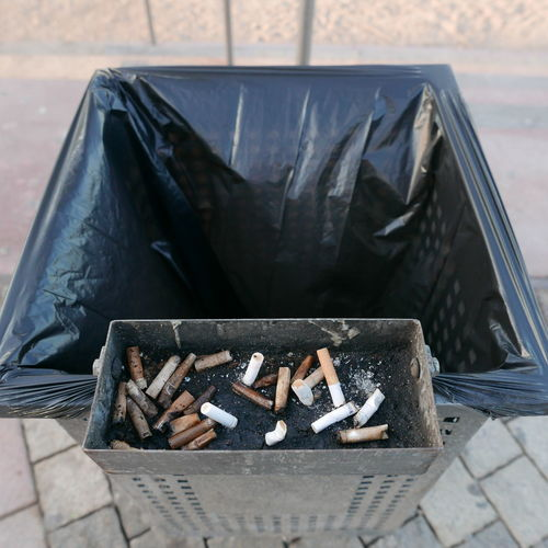Absence Ashtray  Container Day Empty No People Outdoors Street Trash