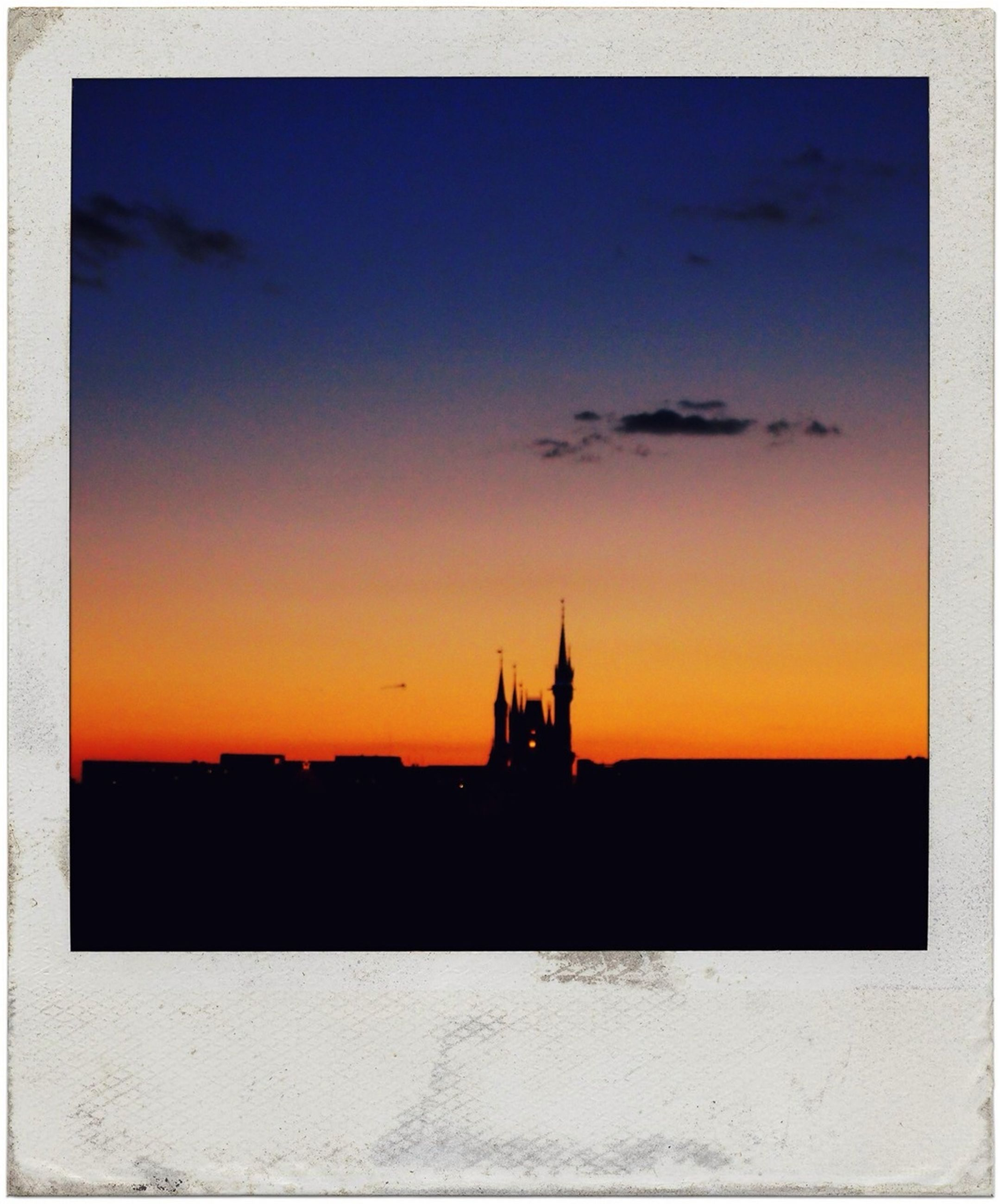 sunset, transfer print, silhouette, building exterior, architecture, built structure, orange color, auto post production filter, sky, copy space, religion, scenics, place of worship, beauty in nature, church, nature, spirituality, outdoors, tranquility