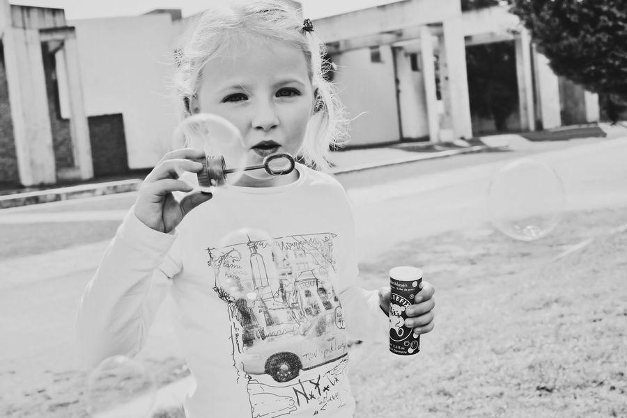 BUBBLES 🎈 B&W Portrait Snapshots Of Life EyeEm Best Shots - People + Portrait Candid Streetphoto_bw Bw_collection NEM Black&white EyeEm Best Shots - Black + White The Portraitist - 2015 EyeEm Awards Make Magic Happen