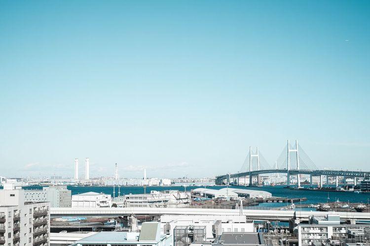 Fujifilm Transportation Harbor Copy Space Commercial Dock Nautical Vessel Built Structure Architecture No People Sky Cityscape City