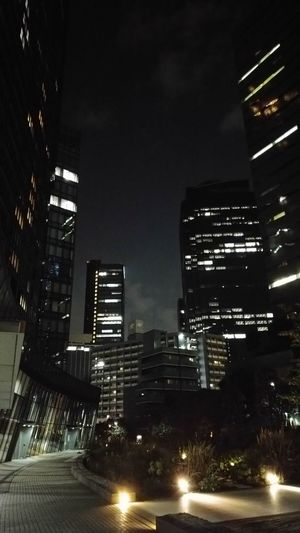 Night Skyscraper Illuminated City Cityscape Urban Skyline Building Exterior Office Building Exterior Downtown District Business Finance And Industry Low Angle View No People Business Modern City Life Tokyo,Japan Shinjuku Nishishinjuku Buildings Light