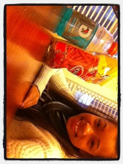 Hot Fries And Gatorade <3 ^-^