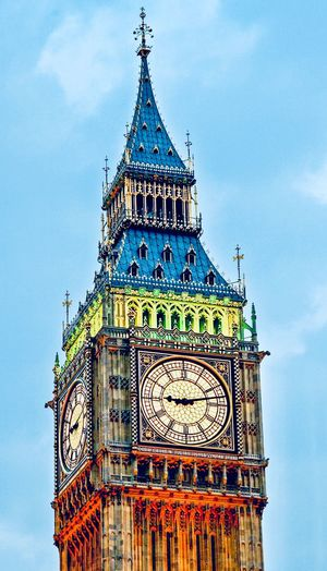 Big Ben Goverment  Built Structure Architecture Building Exterior Sky Low Angle View Cloud - Sky Building City Tower Travel Destinations No People Day Time Outdoors History Spire  Clock Tower