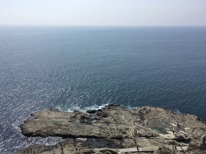 Waves And Rocks Waves, Ocean, Nature Ocean Sea Water Scenics - Nature Sky Horizon Over Water Tranquility Horizon Nature Outdoors