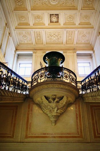 Indoors  Ceiling Ornate History Travel Destinations Architecture Palace Low Angle View Museum Day Royalty No People Politics And Government King - Royal Person Vase Stone Vase St.petersburg St. Petersburg St. Petersburg, Russia Russia Tourism Hermitage, St. Petersburg Hermitage Hermitage Museum Staircase