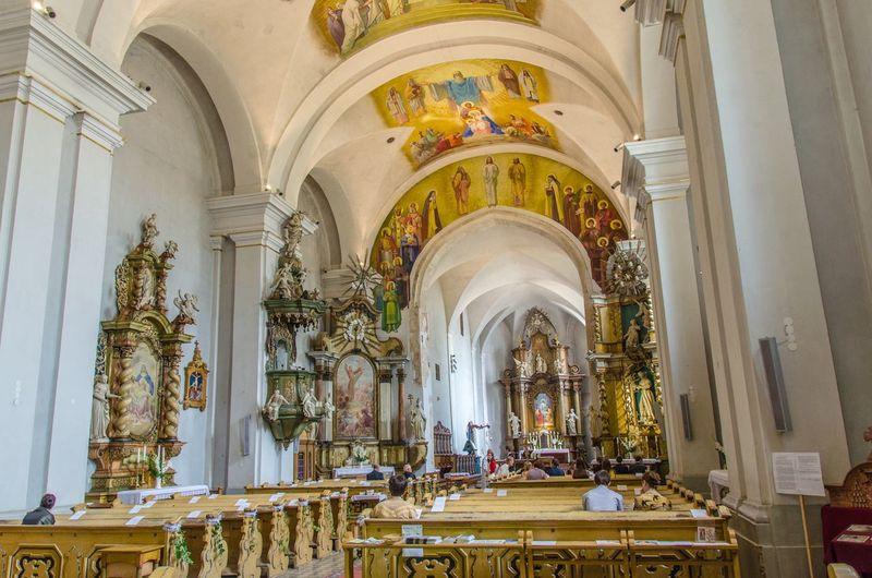Hungary Szécsény Nógrád Church Indoors  Baroque