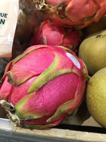 Dragon Fruit Pink Pink Color Food