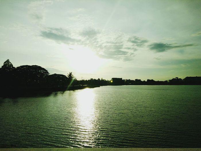 พระอาทิตย์ตก (^v^) Sunset Thailand First Eyeem Photo