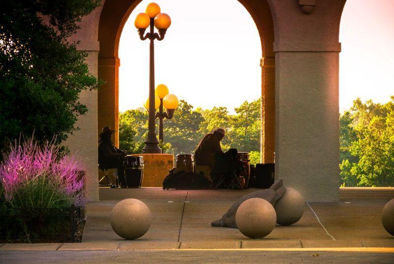 Jazz Band Flow Enjoying Life Park