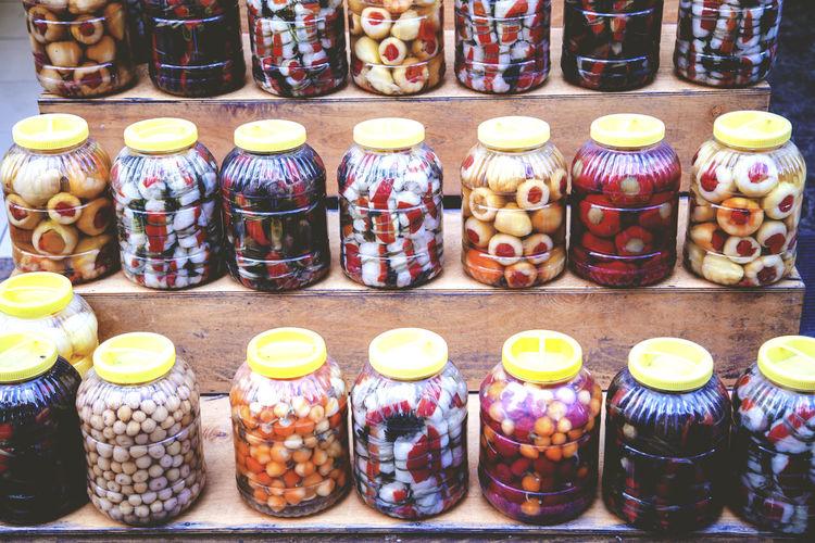 Arrangement Bottle Business Close-up Jar Large Group Of Objects Order Pickle Pickled Pickled Vegetables Picklejar Pickles Pickling Preserving Still Life Turşu Variation