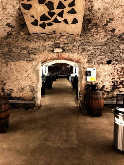 Indoors  Cellar Architecture No People Built Structure Illuminated Basement Day Wine Cask