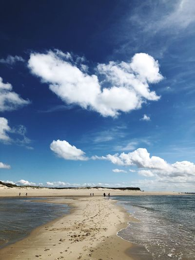 There is always a way Cloud Sky Cloud - Sky Beach Land Water Sea Scenics - Nature Nature Outdoors